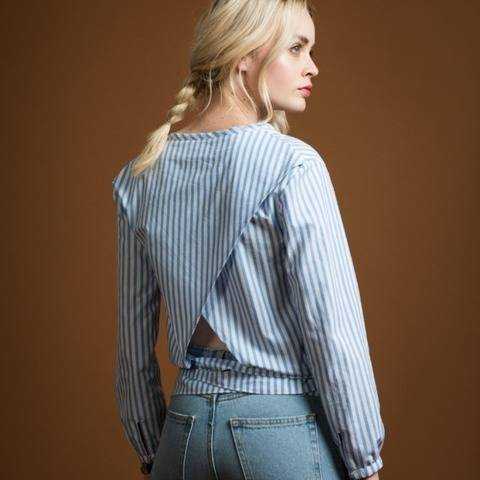 Epicea Blouse - sewing pattern + detailed instructions at Makerist