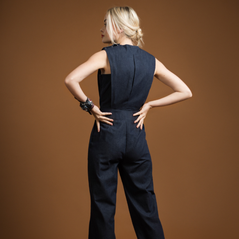 Acacia Jumpsuit - sewing pattern + detailed instructions