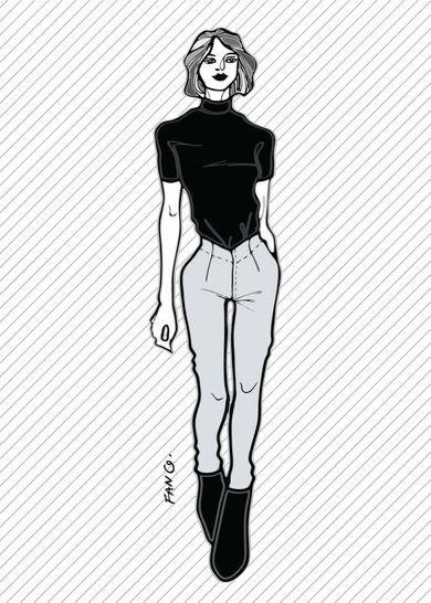 RACHEL le pantalon skinny - Patron de couture PDF chez Makerist - Image 1