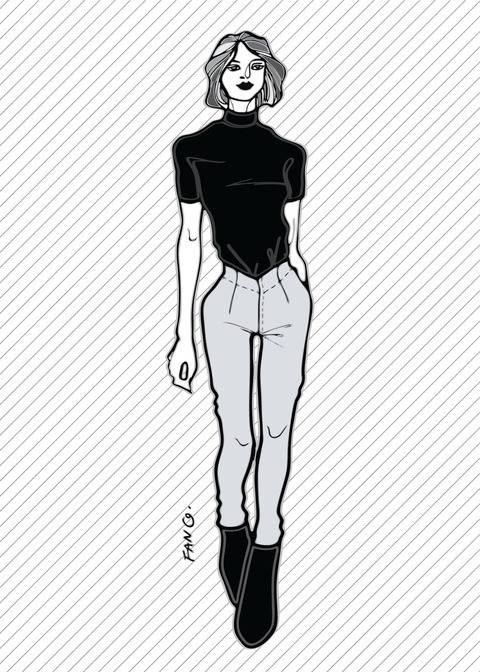 RACHEL le pantalon skinny - Patron de couture PDF chez Makerist