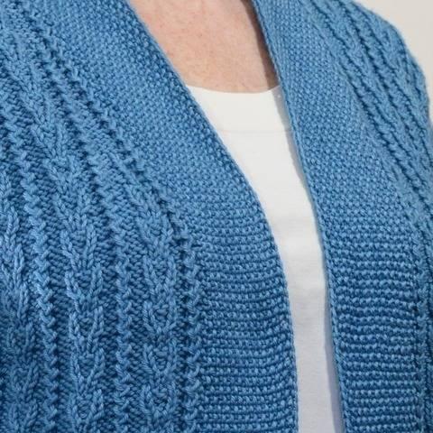 Pemberton Cardigan - knitting pattern at Makerist