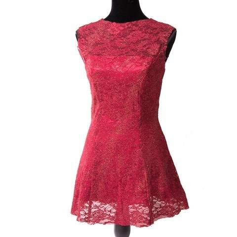 Robe rose tango - patron et explications détaillées