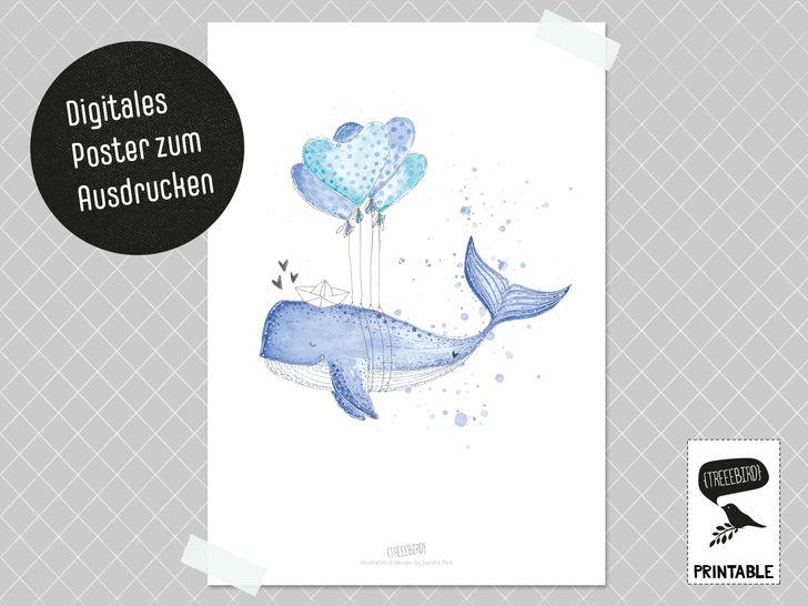 Poster Herzenswal bei Makerist - Bild 1