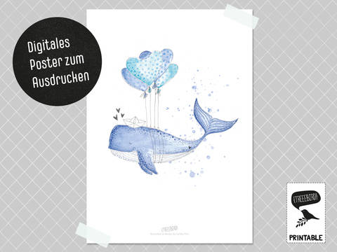 Poster Herzenswal bei Makerist