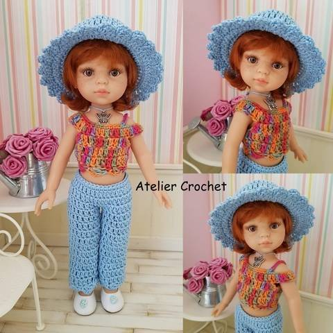 """Marta"" crochet pattern for Paola Reina at Makerist"