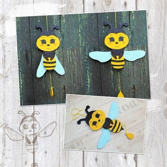 """Hampelinsekten """"Biene"""" - Bastelanleitung bei Makerist - Bild 1"""
