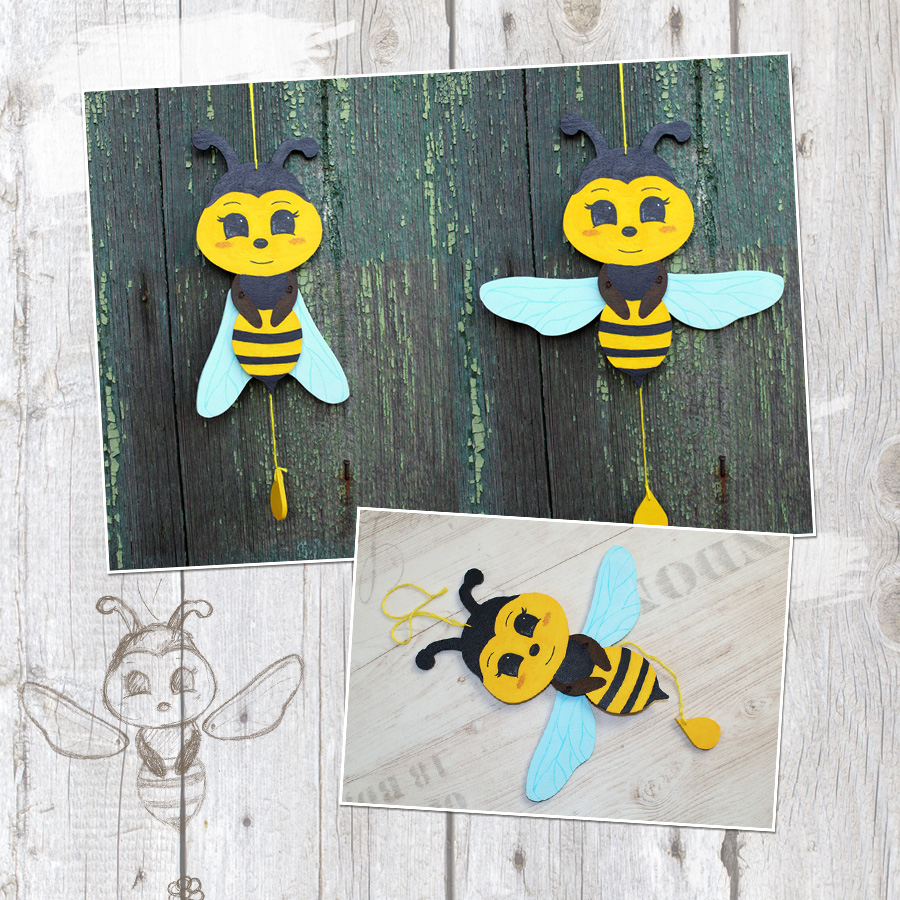 Bienen Basteln Anleitung Und Ideen Fur Verschiedene