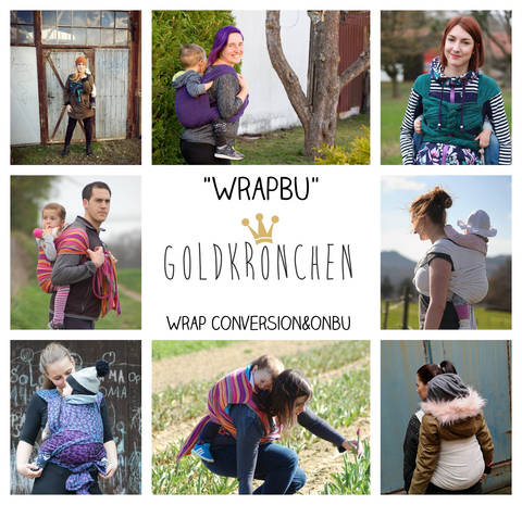 WrapBu Ebook, Tragehilfe, Wrap Conversion, Onbuhimo bei Makerist