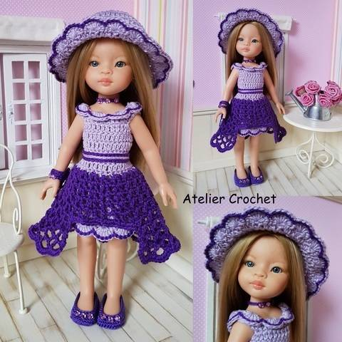 """Ninon"" crochet pattern for Paola Reina at Makerist"