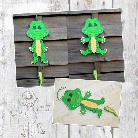 "Hampelzoo ""Krokodil"" - Bastelanleitung bei Makerist - Bild 1"