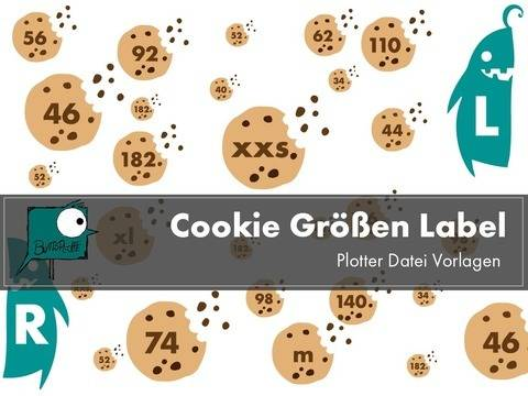 Cookie Labels Plotterdatei