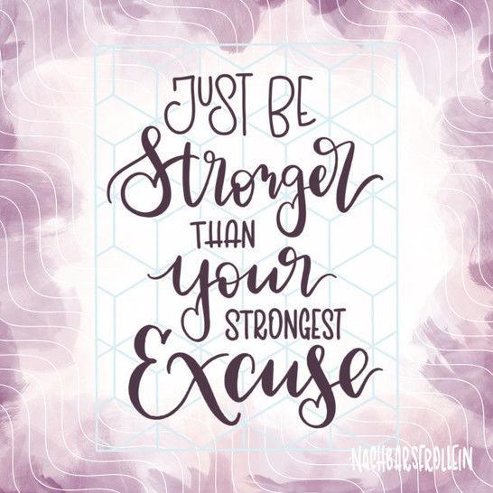 Plotterdatei 'Be Stronger' bei Makerist - Bild 1
