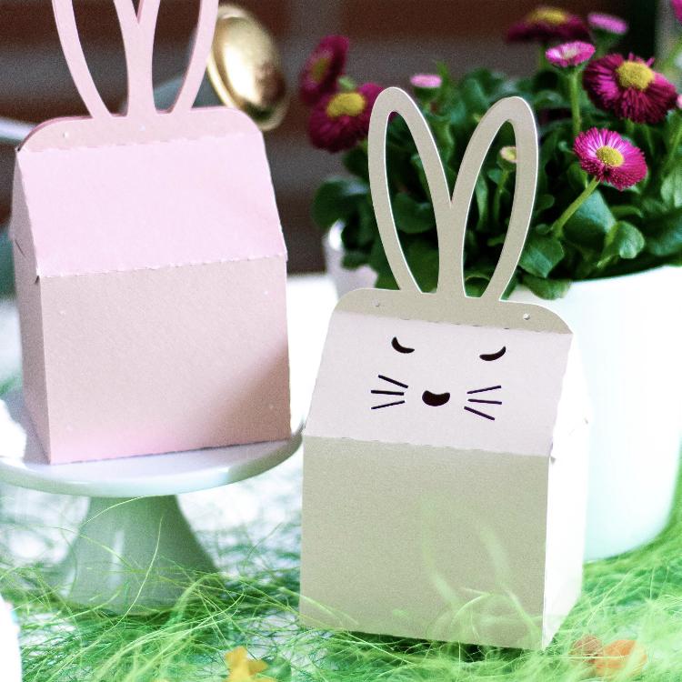 Plotterdatei und DIY Anleitung Box Conejito