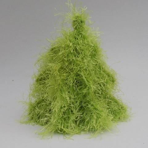 Knitted 3D Christmas Tree Pattern, Knitting home decor at Makerist