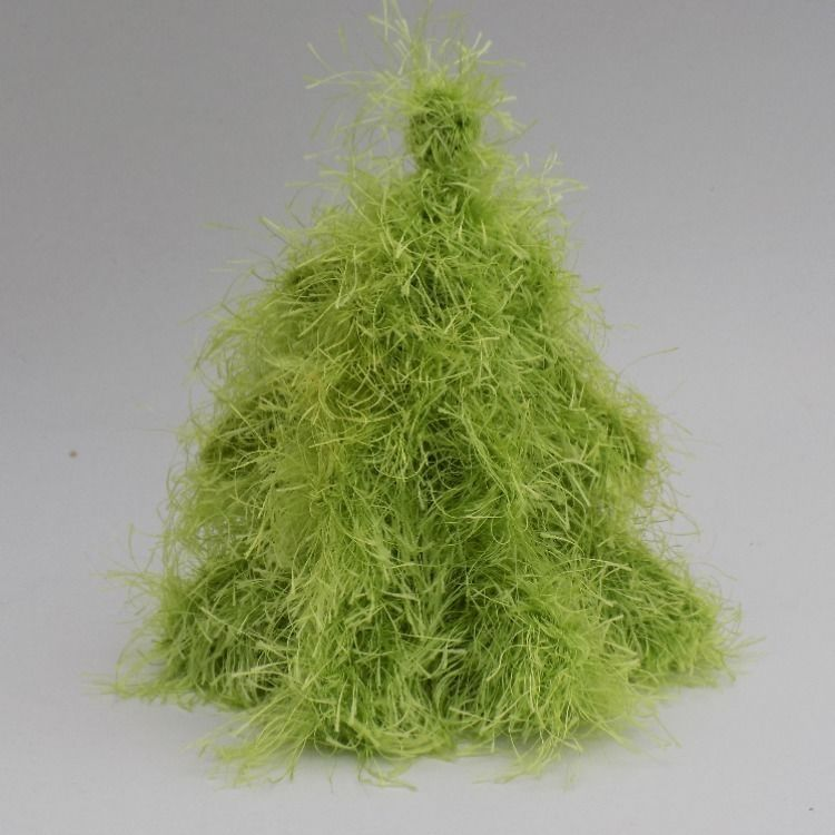 3d Christmas Tree Pattern: Knitted 3D Christmas Tree Pattern, Knitting Home Decor