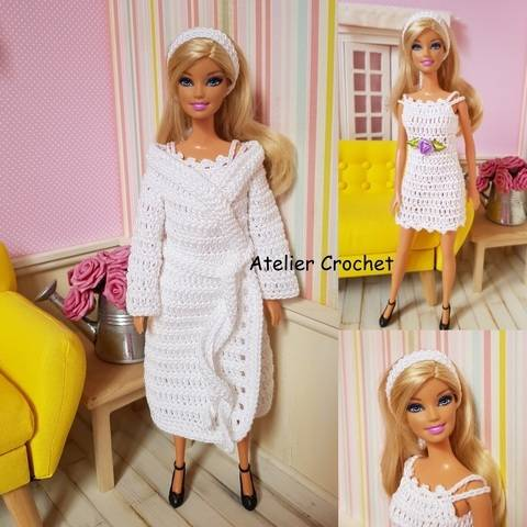 """Julianne"" patron crochet pour poupée Barbie chez Makerist"