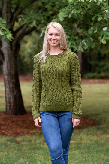 Aberdeen Cabled Pullover #198 at Makerist - Image 1
