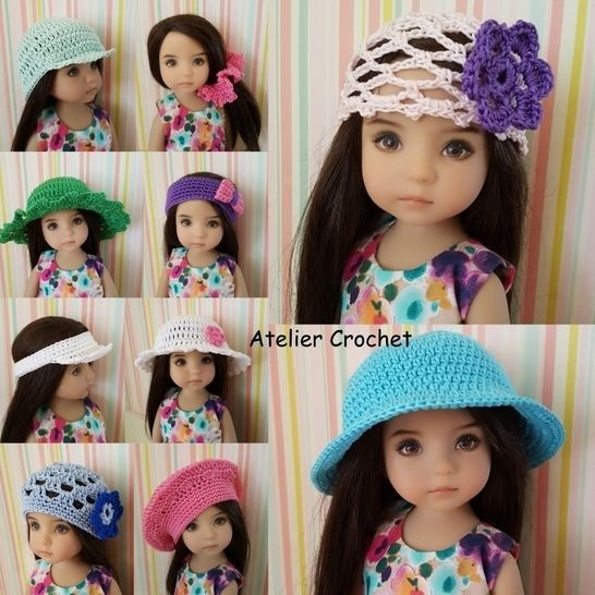 """Headwear"" crochet pattern for Little Darling at Makerist - Image 1"