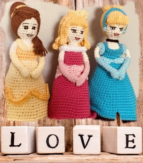 3 Tuto pdf princesses crochet chez Makerist - Image 1
