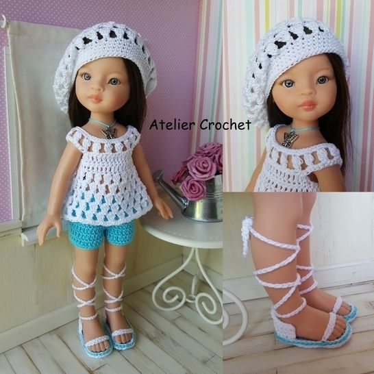 """Mindie"" crochet pattern for Paola Reina at Makerist - Image 1"