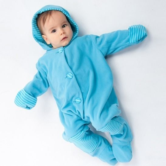 DORIAN Lined baby overall pattern with hood and cuffs at Makerist - Image 1