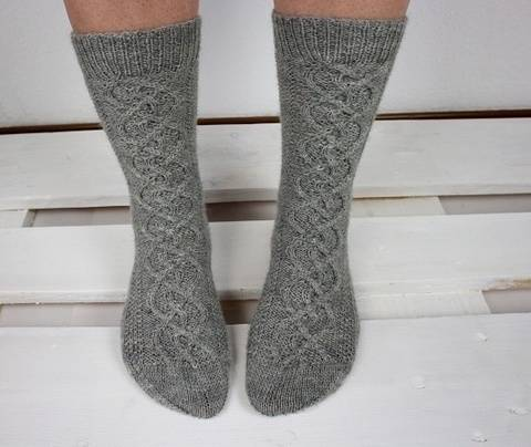 "Knitting pattern socks ""Helix"" at Makerist"