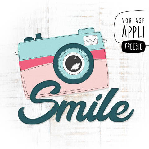 FREEBIE SMILE Applikationsvorlage bei Makerist