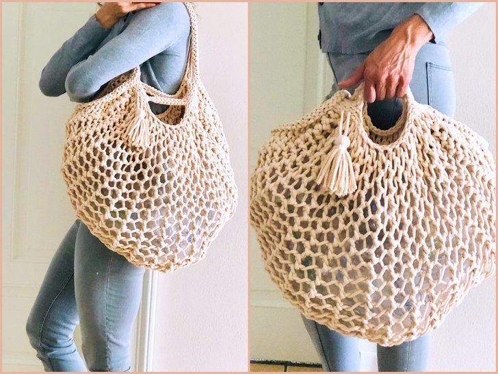Strickanleitung - Shoppingbag BIG Netty - No.218 bei Makerist - Bild 1