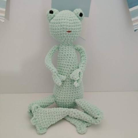 Amigurumi – Lilly the Frog - crochet – tutorial