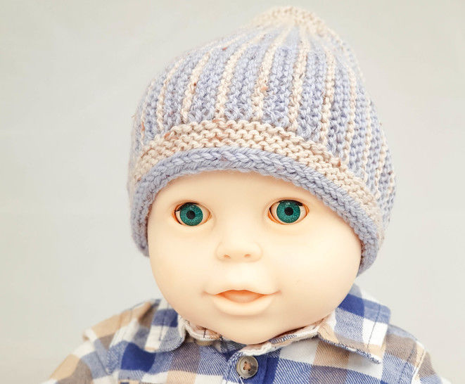 Sunny Rays Beanie- baby hat knitting pattern at Makerist - Image 1