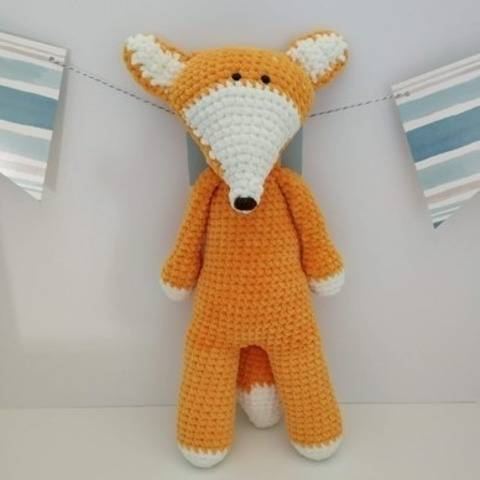 Amigurumi – Felix the fox - crochet – tutorial