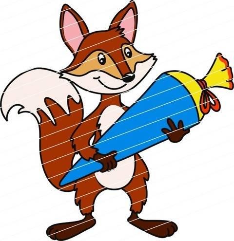 Einschulung: Der Fuchs kommt in die Schule bei Makerist