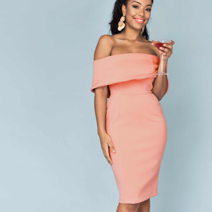 Magarita // Women's Knit Bodycon Party Dress