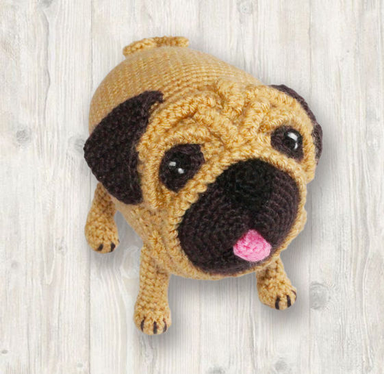 Bug the Pug Crochet Pattern at Makerist - Image 1