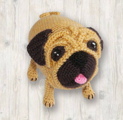 Bug the Pug Crochet Pattern