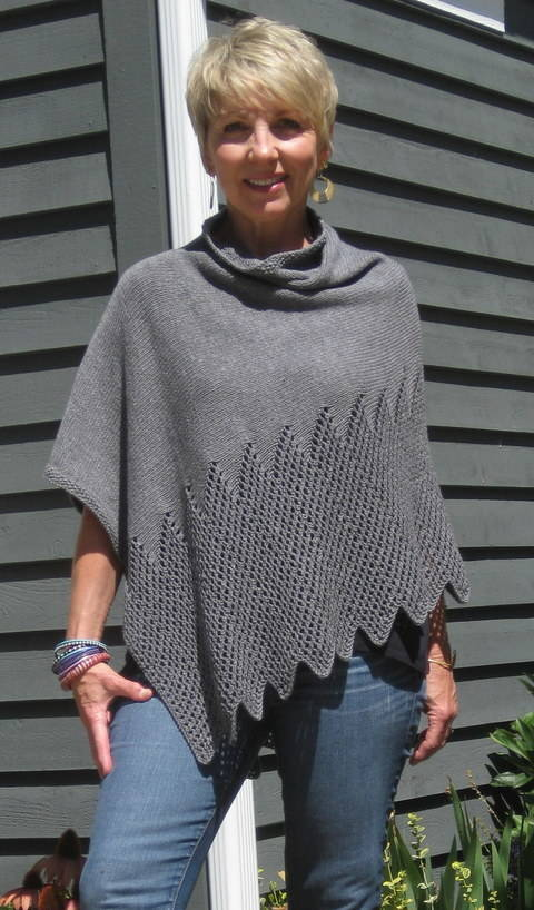 Lattice Lace Poncho at Makerist