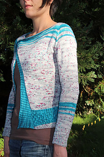 Cardigan Blue Lagon - tricot