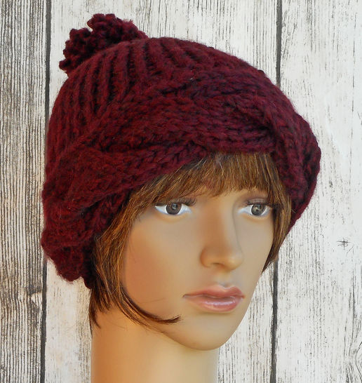 Braided Brim Hat - Knit Pattern - Women's  at Makerist - Image 1