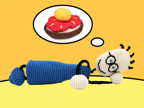 TOM & The Slice of Bread with... - Crochet Pattern