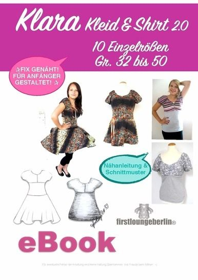 KLARA Kleid & Shirt Sommerkleid Damenkleid Shirtkleid Top bei Makerist - Bild 1