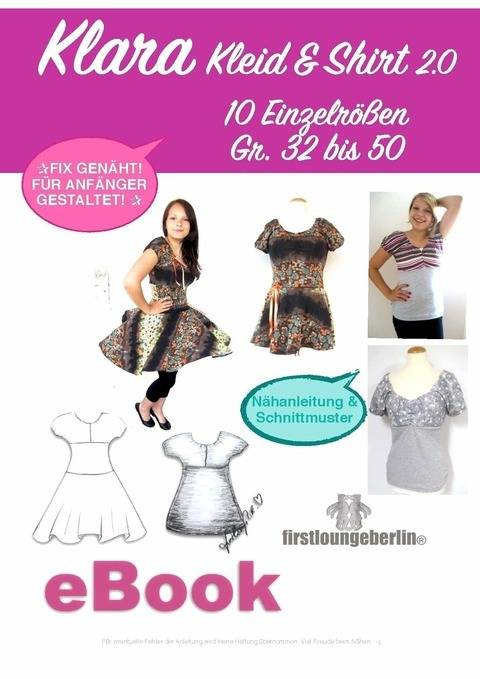 KLARA Kleid & Shirt Sommerkleid Damenkleid Shirtkleid Top