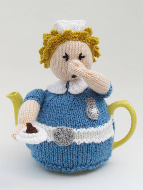 Nurse Tea Cosy Knitting Pattern at Makerist