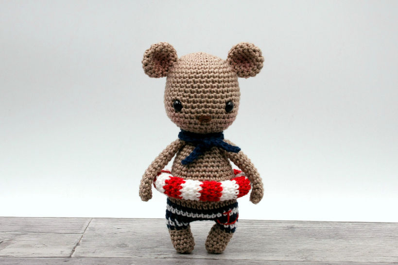 Amigurumi mini ours MALO - tutoriel de crochet chez Makerist - Image 1