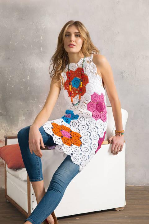Minikleid mit Blüten