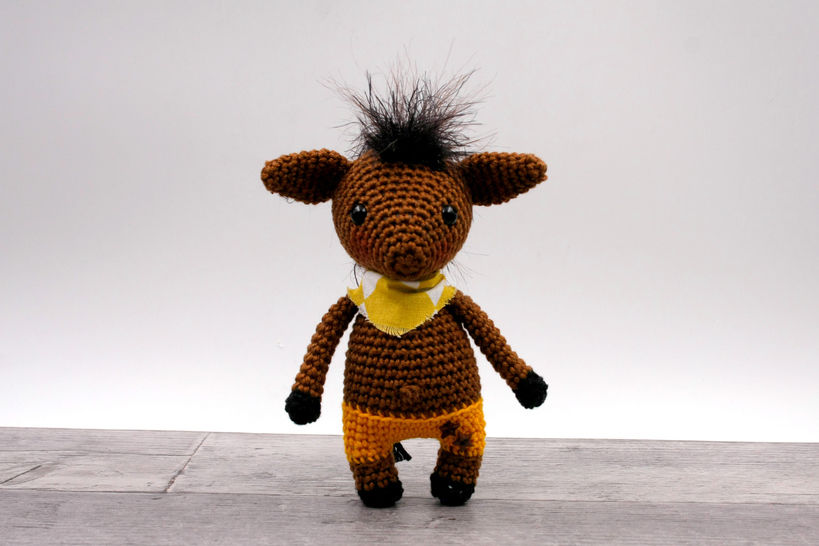 Amigurumi mini poney JORGE - tutoriel de crochet chez Makerist - Image 1