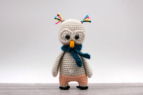 Amigurumi mini chouette EDA - tutoriel de crochet chez Makerist