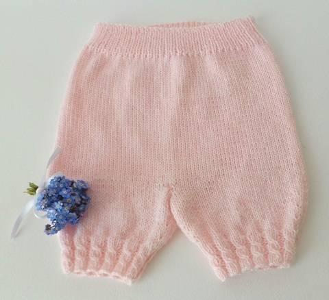 Baby short 24 mois - tutoriel de tricot bébé chez Makerist