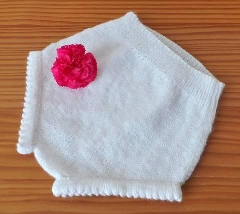 Petite culotte 3 mois - tutoriel de tricot chez Makerist