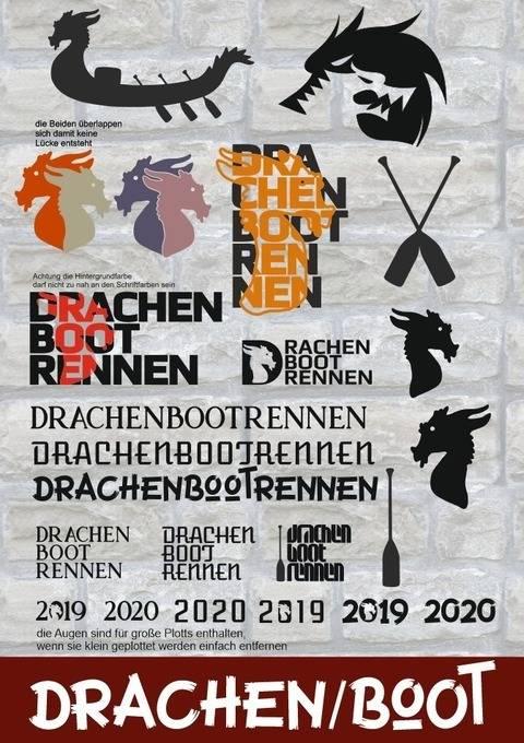 DRACHENBOOTRENNEN - Drachen & Mega Deko