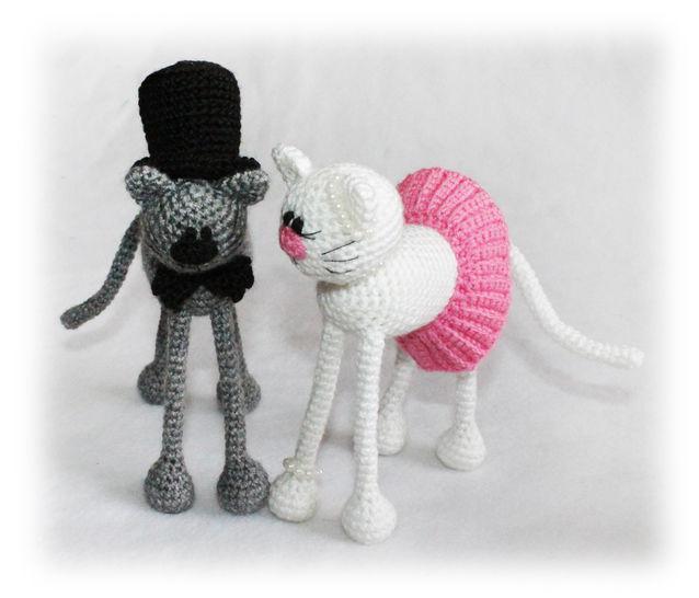 Casper and Katy Cats Crochet Pattern at Makerist - Image 1